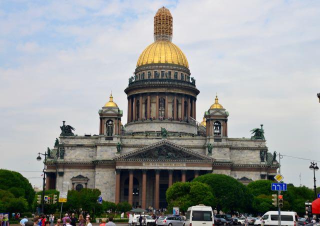 A Catedral de Santo Isaac