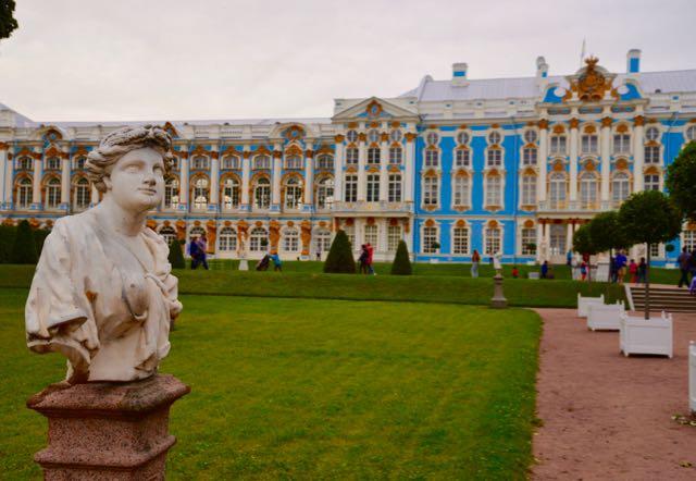 O Palácio de Catarina.