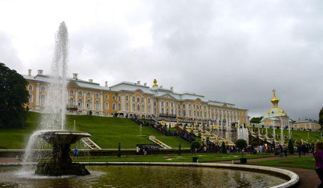 O Palácio de Verão de Peterhof