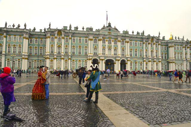 O Palácio Hermitage