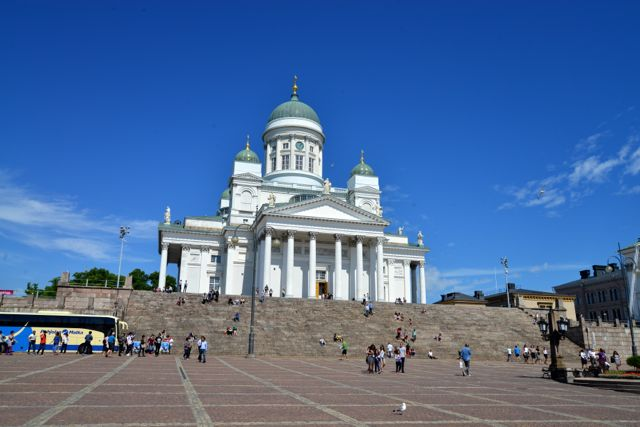 A Catedral de Helsinque.