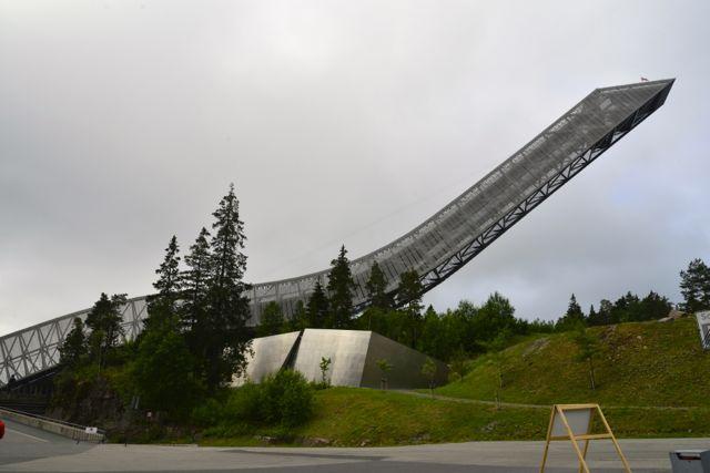 O Trampolim Holmenkollen