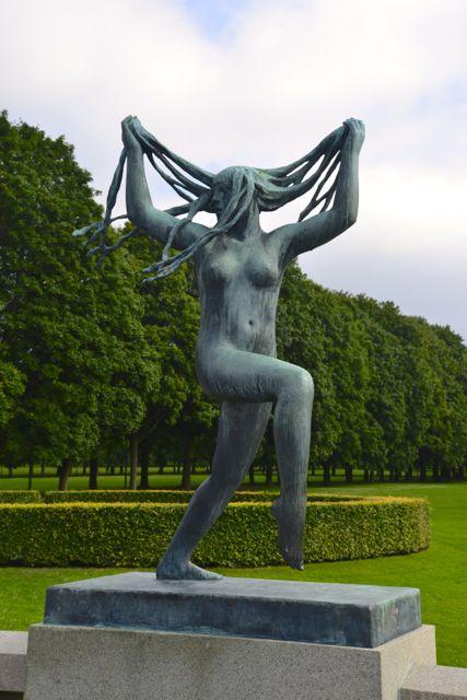 Carnaval - Uma das esculturas de Vigeland