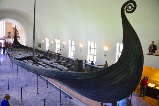 Os barcos Vikings eram leves e de fácil navegação