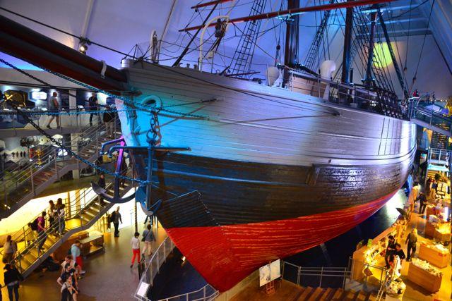 O Barco Fram.
