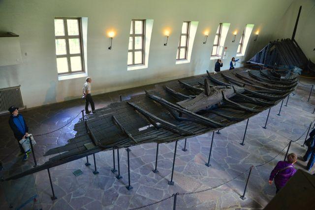 Um barco viking
