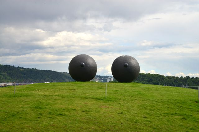 O Parque das Esculturas.