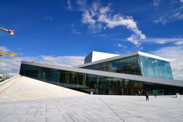 A Casa de Ópera de Oslo