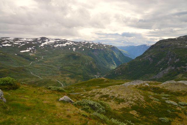Os Alpes Escandinavos são montanhas baixas e de picos arredondados.