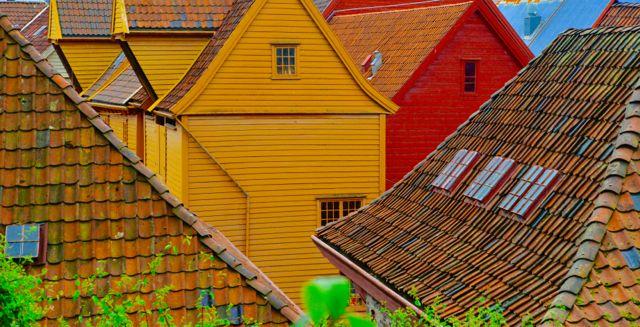 Cores de Bergen.
