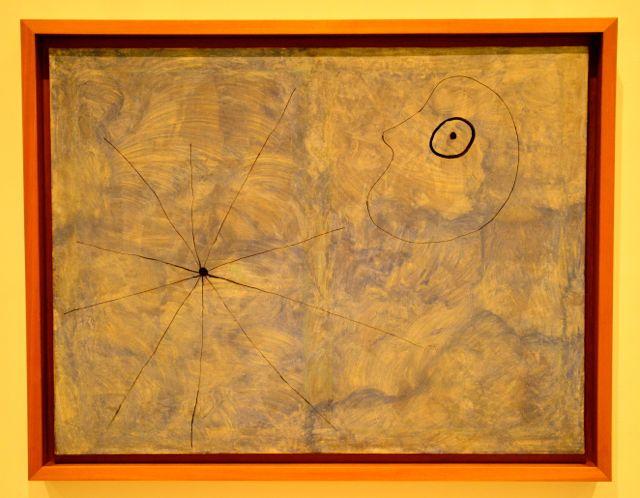 Cabeça e Aranha de Joan Miró