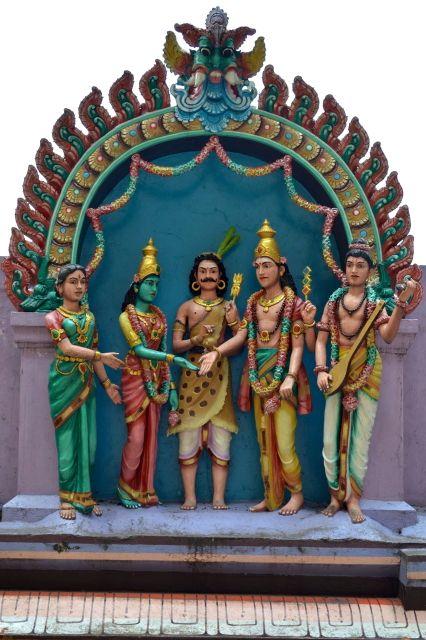 Detalhe do Templo Hindu