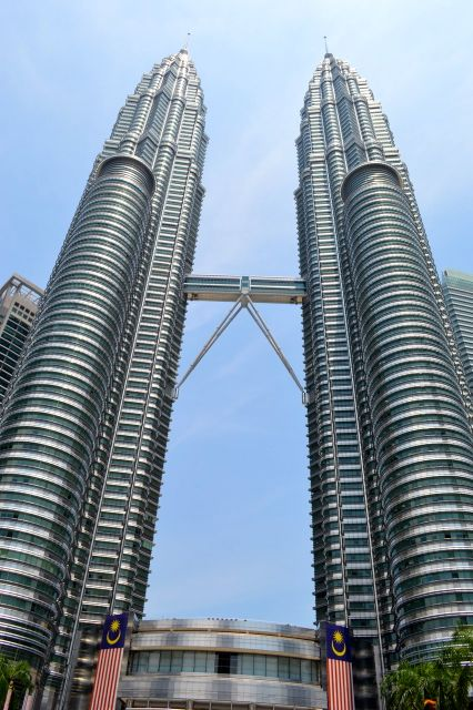As Petronas Towers