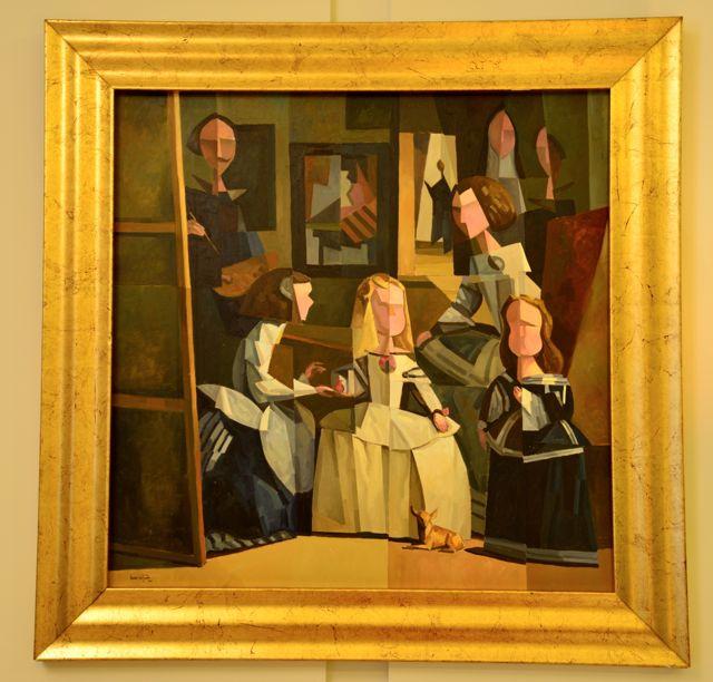 Adaptação do quadro As Meninas de Velazquez.