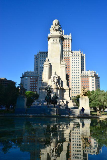 Monumento em homenagem a Miguel de Cervantes