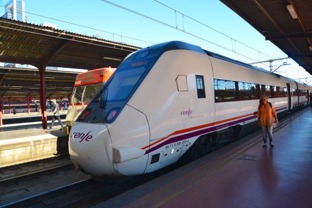 O trem para Ávila
