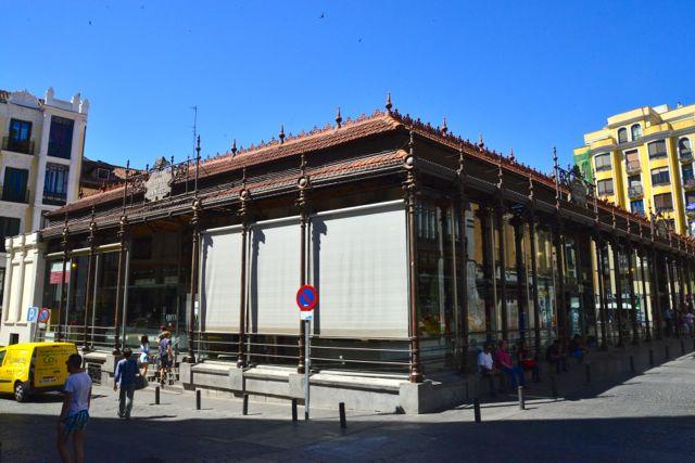 O Mercado de San Miguel.