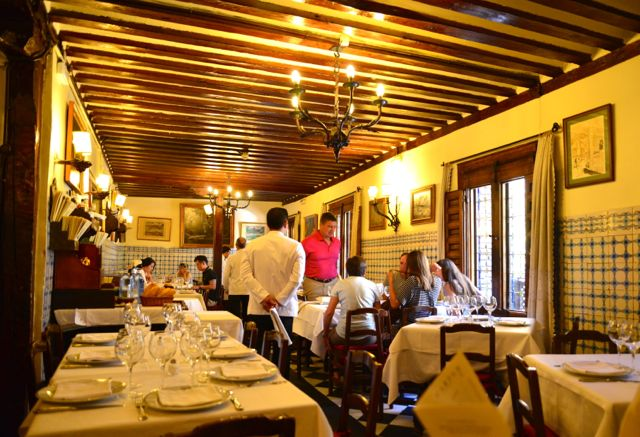 Interior do Restaurante Botin