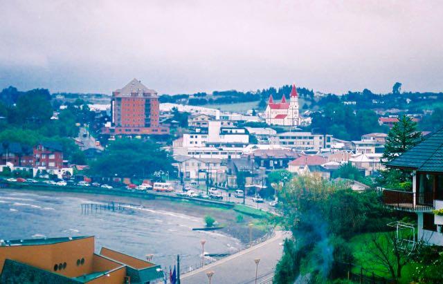 Vista panorâmica de Puerto Varas