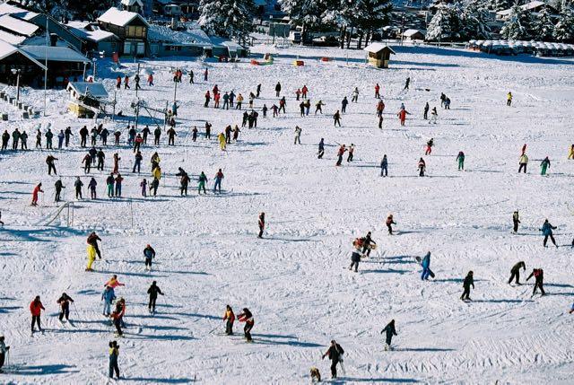O turismo de neve é uma das principais atrações de Bariloche