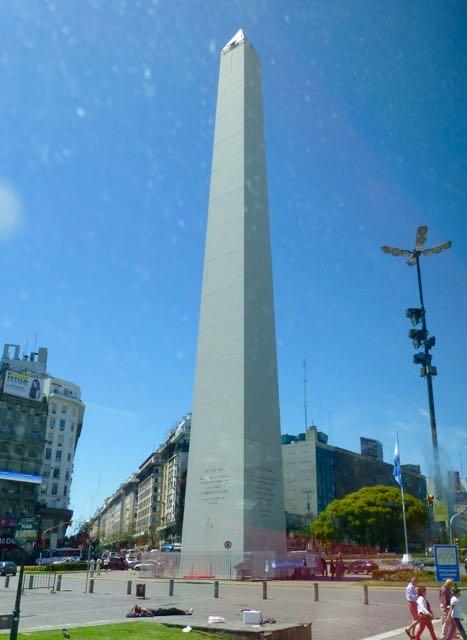 O Obelisco da Avenida Nove de Julho