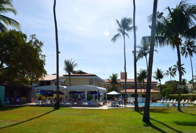 O bom Hotel Baía Branca Beach Resort